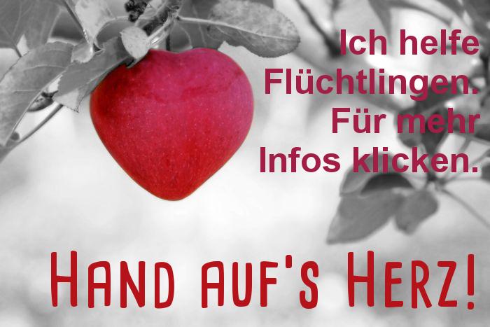 Hand auf's Herz – Mitmachen bei den Dillinger Flüchtlingshelfern!